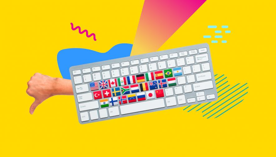 UX design: gli errori da evitare nei siti multilingue