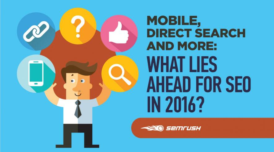 Mobile, Direct Search and More: What Lies Ahead for SEO in 2016?