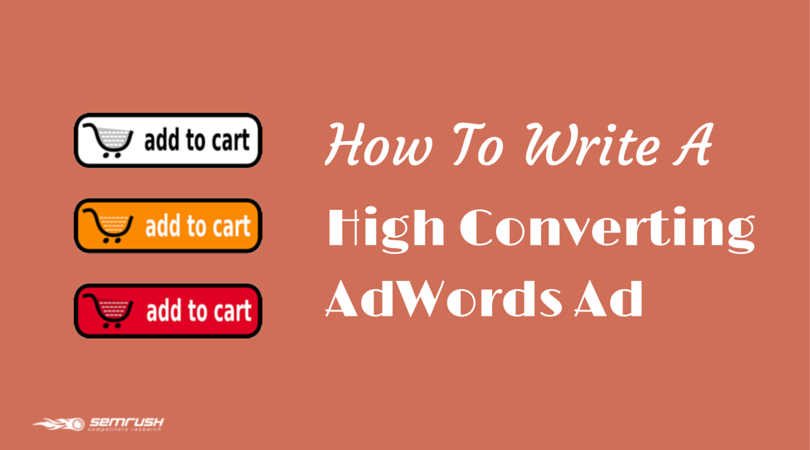 How To Write A High Converting AdWords Ad