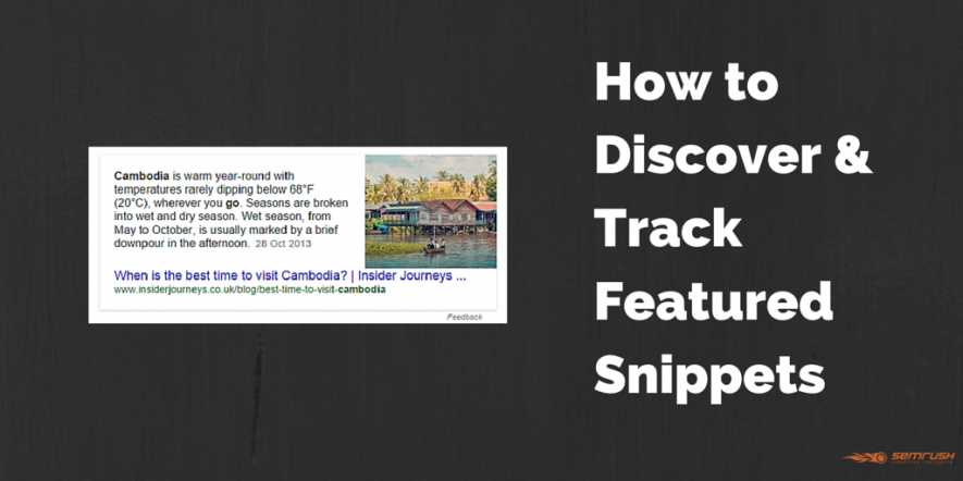 How to Discover and Track Featured Snippets