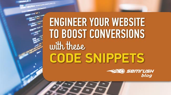 Engineer Your Website to Boost Conversions with These Code Snippets [Checklist]
