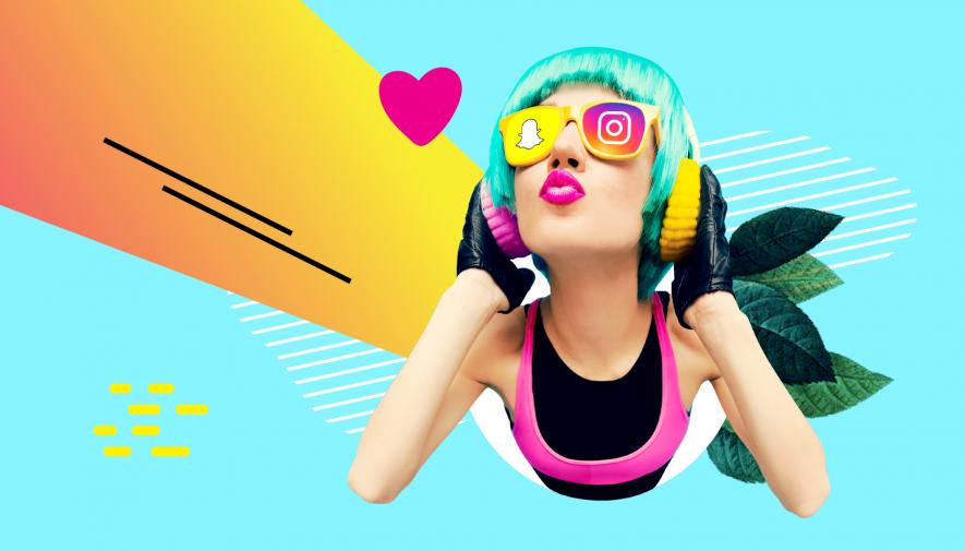 Snapchat et Instagram gagnent le coeur des plus jeunes