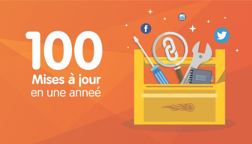 1 an, 100 mises à jour, 1 000 000 utilisateurs : à quoi a ressemblé 2016 pour SEMrush