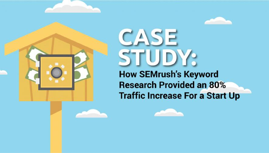 All The Right Words: How Keyword Research Provided an 80% Traffic Increase For A Start Up