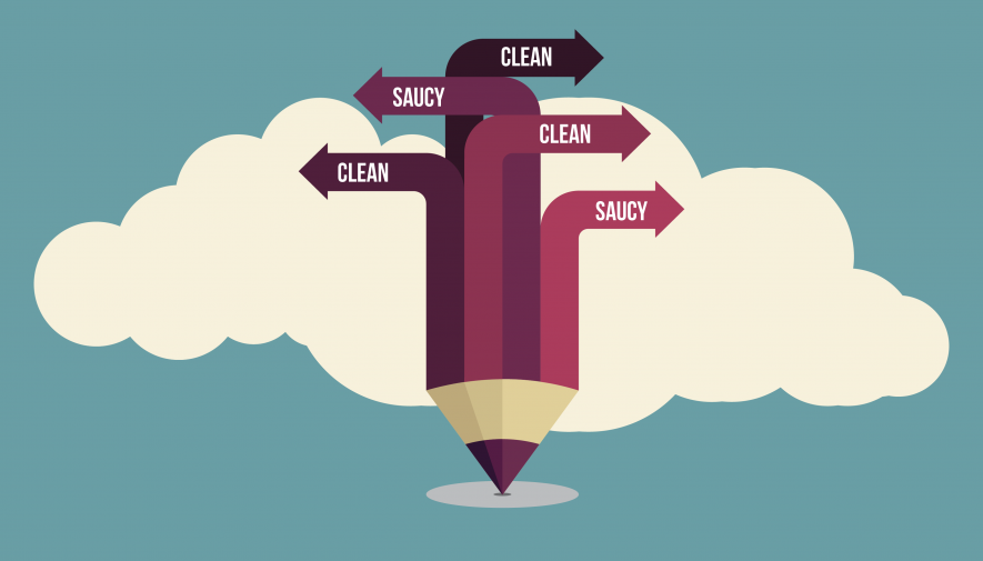 Clean Content vs. Saucy Content: Whether or Not to Curse Online