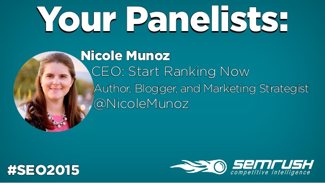 SEMrush Q&A: Start Ranking Now CEO Nicole Munoz