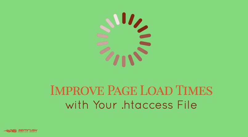 Improve Page Load Times with Your .htaccess File