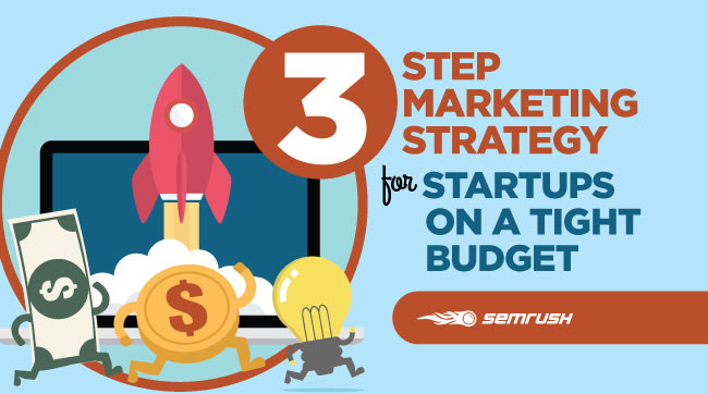 3 Step Marketing Strategy for Startups on a Tight Budget