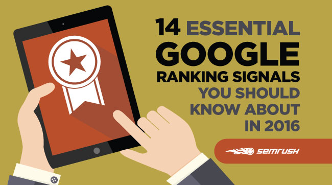 14 Essential Google Ranking Signals You Should Know About In 2016