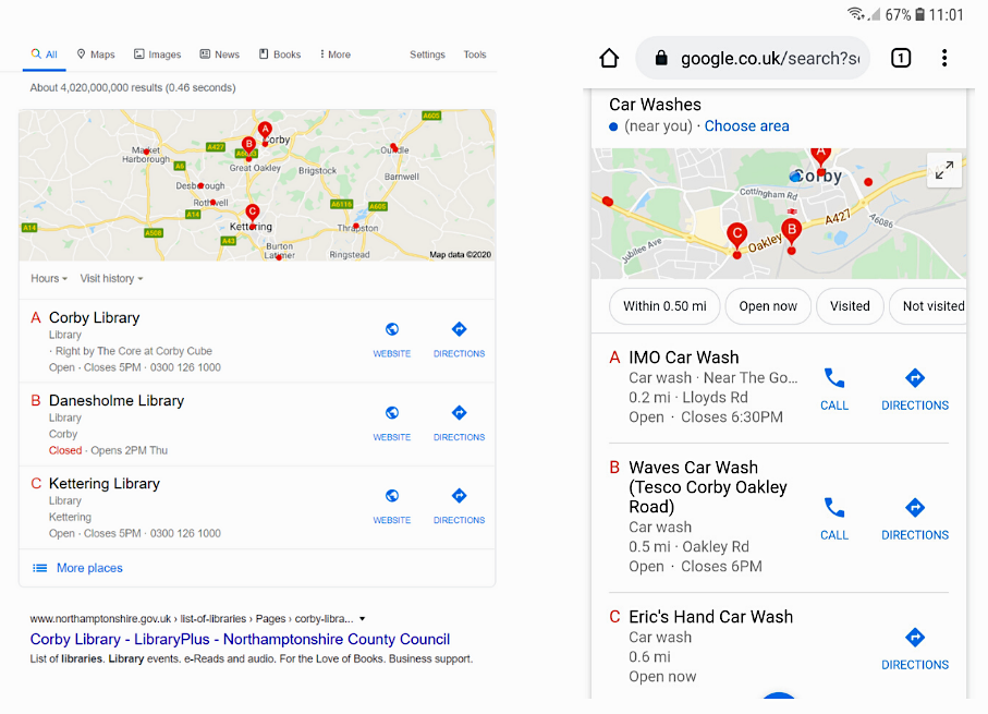 Local SEO for Small Businesses: Google My Business