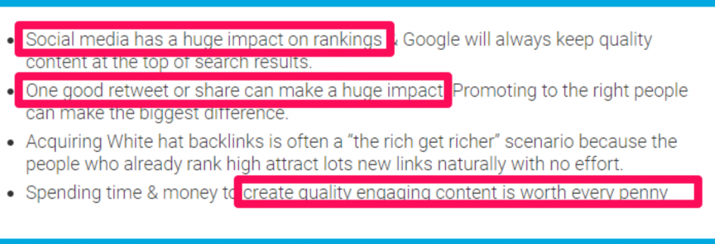 Matthew Woodworth comments on SEO and social