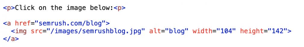 html link code