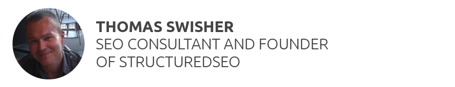 Thomas Swisher In-House SEO, Page One Power & Structured SEO