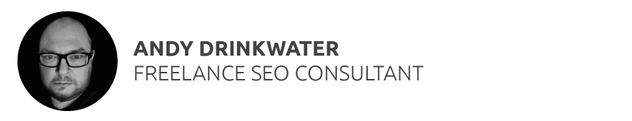 Andy Drinkwater Freelance SEO Consultant