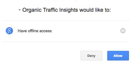 Configuring Organic Traffic Insights image 3