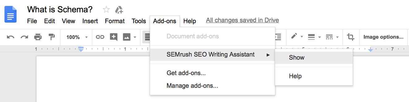Run SEO Writing Assistant