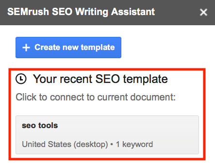 SEO Writing Assistant limits 3