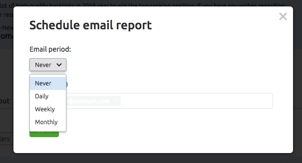 How to track your progress and set up alert emails for your Projects image 12
