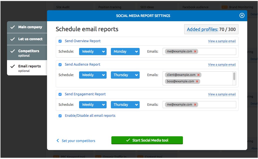 How to track your progress and set up alert emails for your Projects image 6
