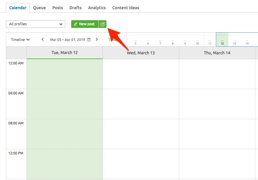 Planning Your Posts in an Interactive Calendar image 10