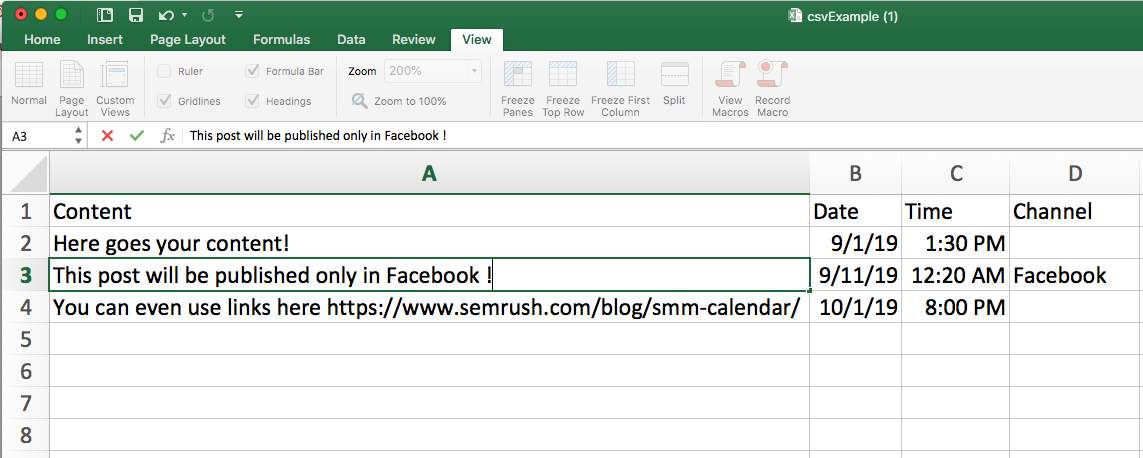 Planning Your Posts in an Interactive Calendar image 11