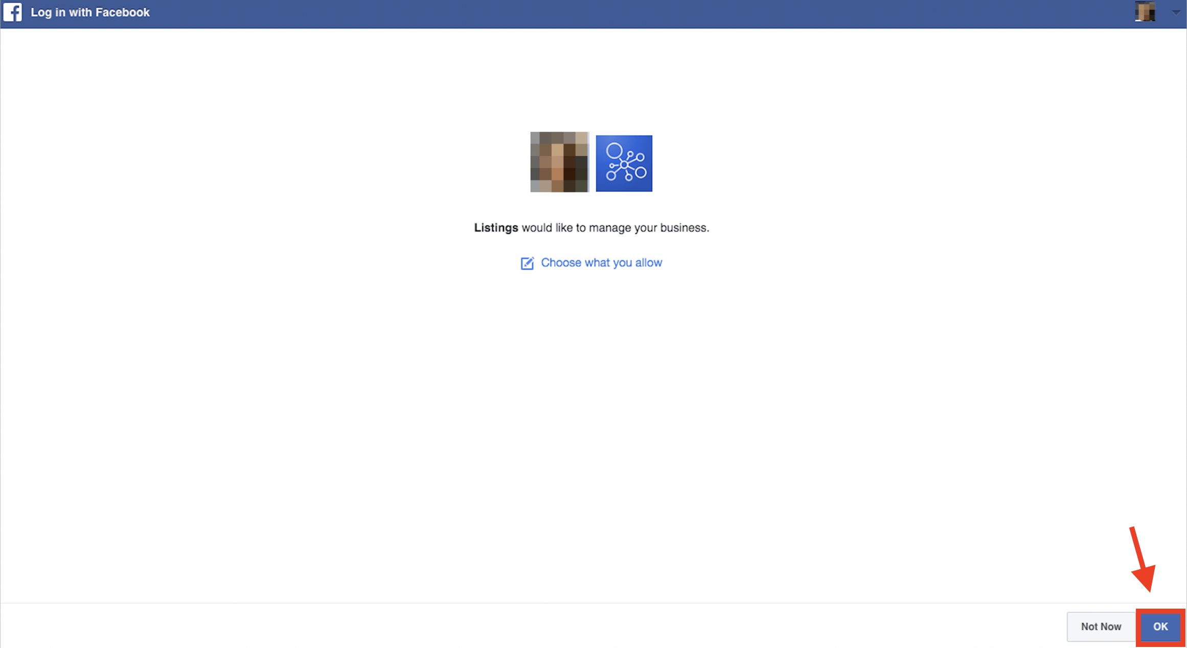 Connecting Facebook and Google My Business to Listing Management image 3