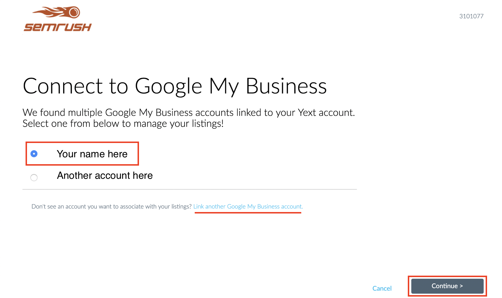 Connecting Facebook and Google My Business to Listing Management image 6