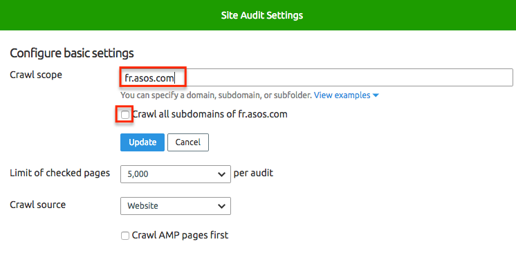How to Set up Multiple Projects to manage an International Website image 4