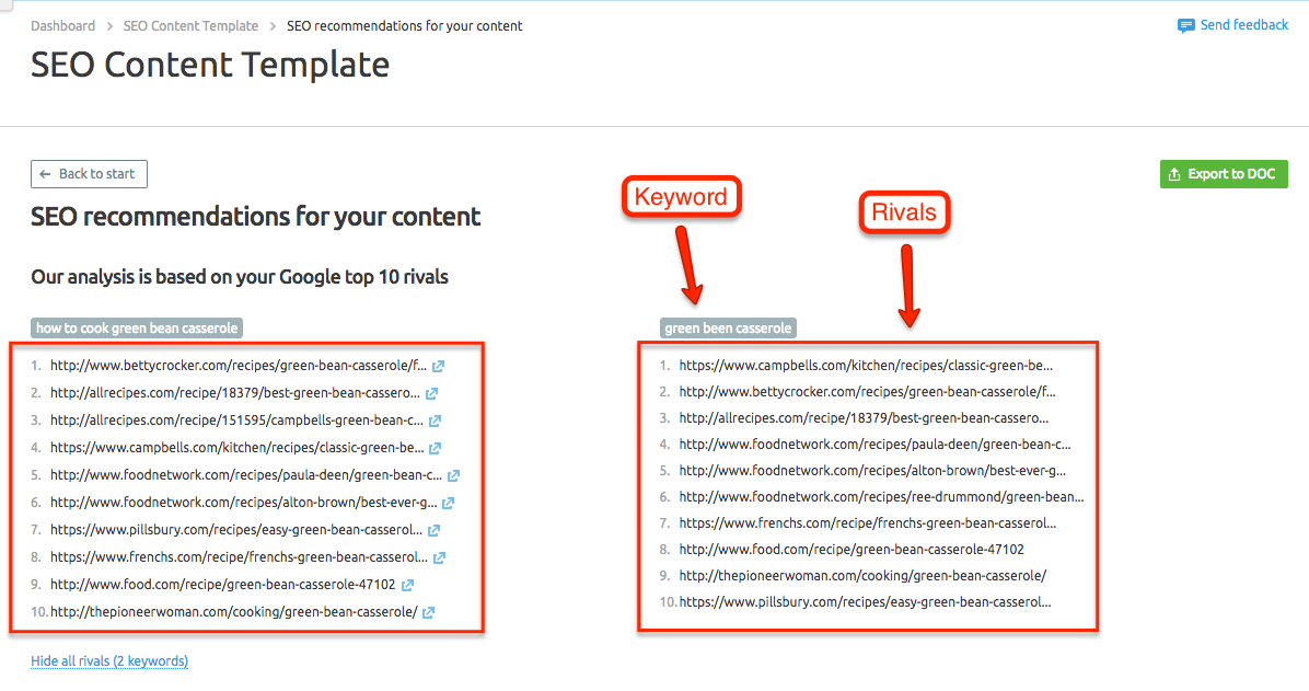 SEO Content Template image 2