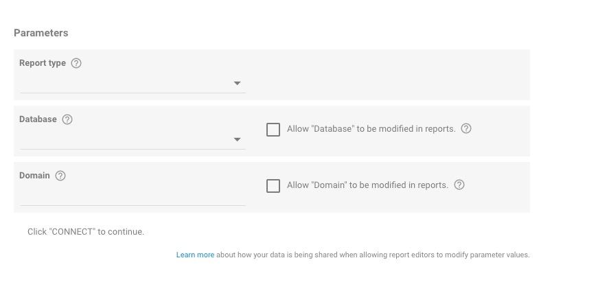 Integración de los datos de Semrush con Google Data Studio image 4