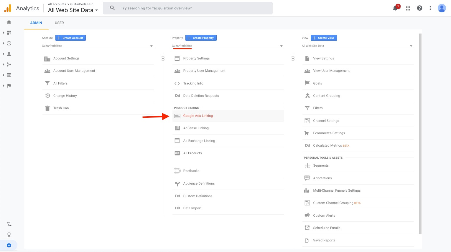 How to Connect Your Google Ads to Your Google Analytics image 1