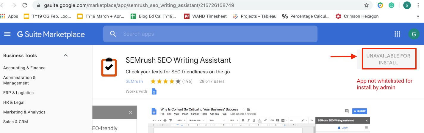 Troubleshooting SEO Writing Assistant image 5