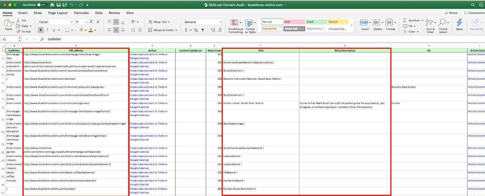 Optimizing Page Title and Meta Description via Semrush image 3