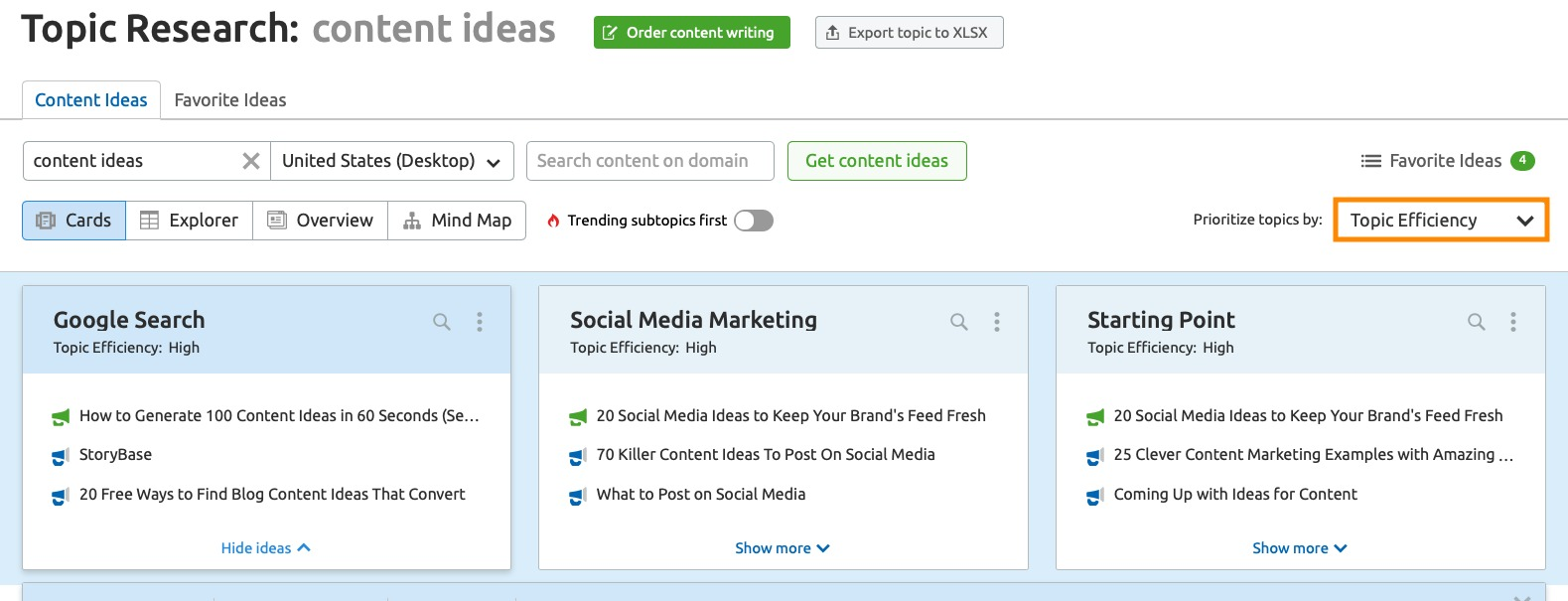 How to Find Relevant Topics with Good SEO Potential image 2