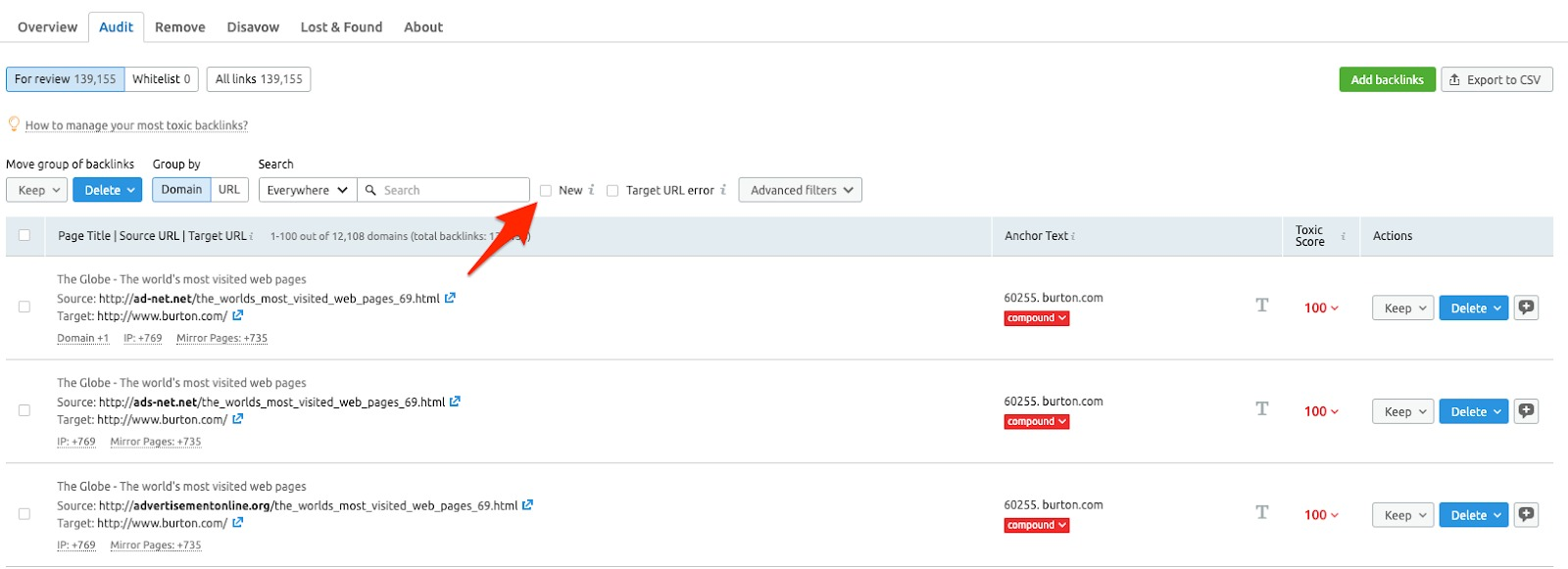 Cómo auditar tus backlinks image 2