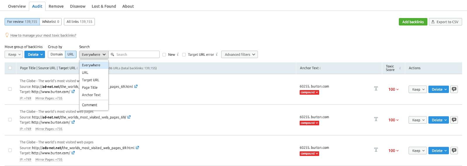Cómo auditar tus backlinks image 3