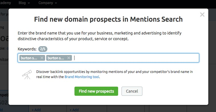 Reviewing Your Link Building Prospects (Prospects Report) image 10