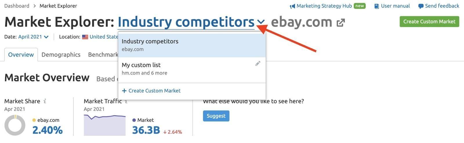 Market Explorer Übersichtsbericht image 1
