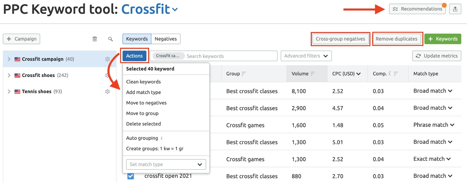 How to Restructure Your Google Ads Keyword List image 1