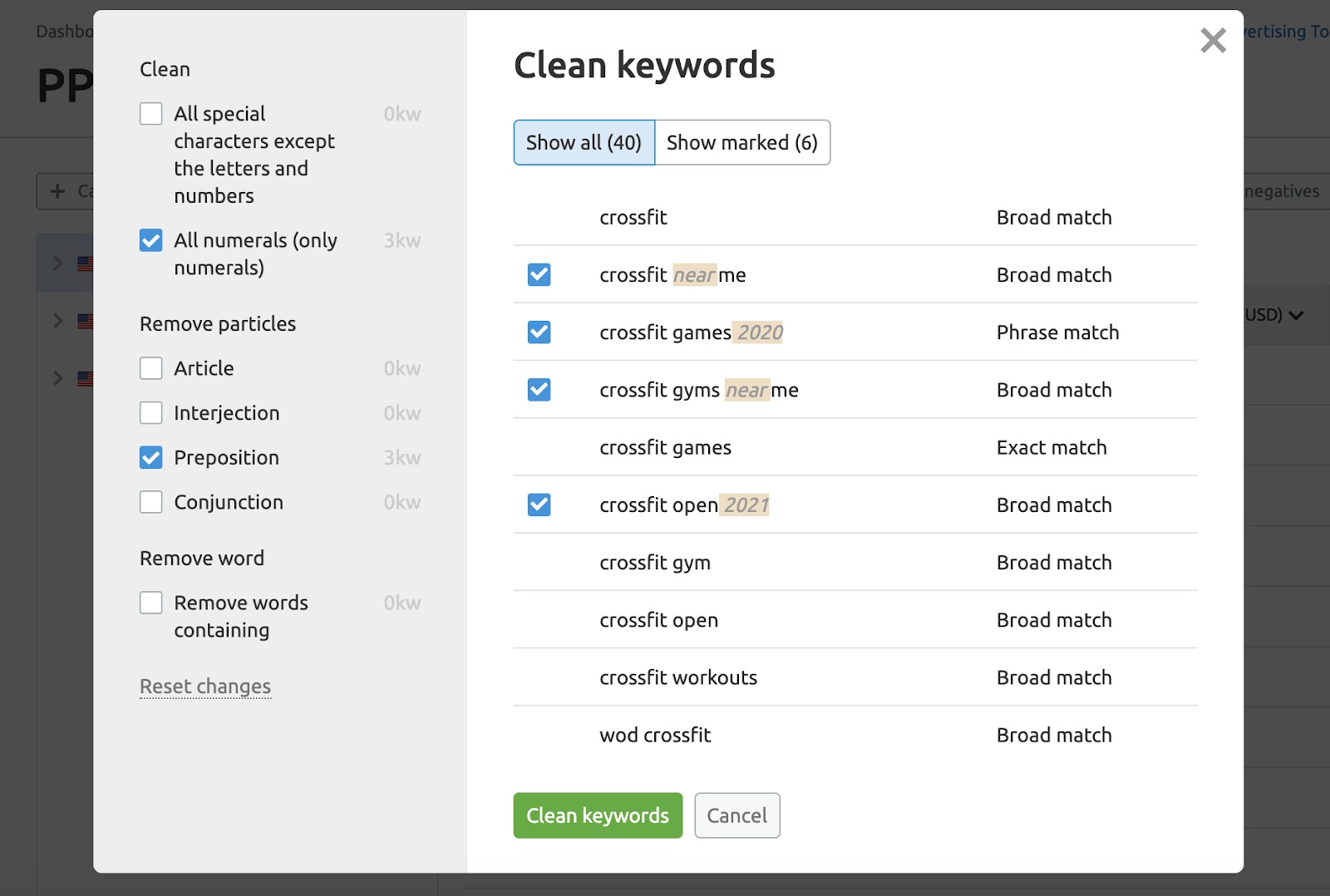 How to Restructure Your Google Ads Keyword List image 2