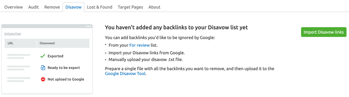 Rifiutare i tuoi backlink image 1