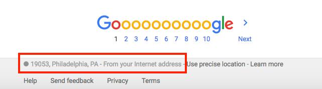 Por que meus resultados de Monitoramento de posição são diferentes no Google image 1