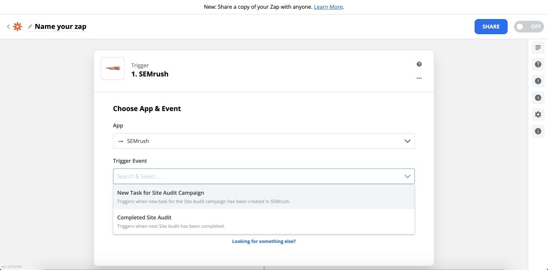 Comment intégrer Zapier à Audit de site image 1