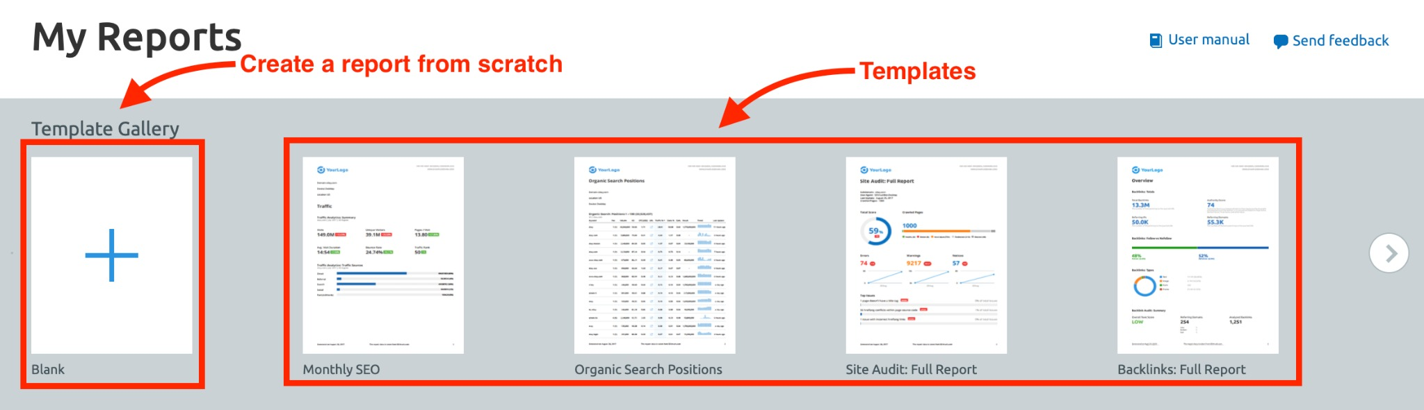 Report Automation with Semrush image 3