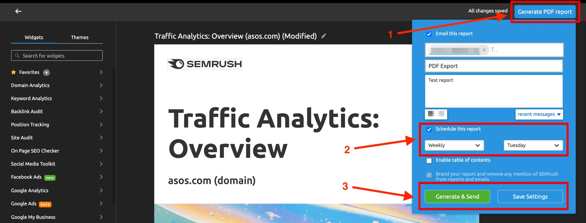 Report Automation with Semrush image 4