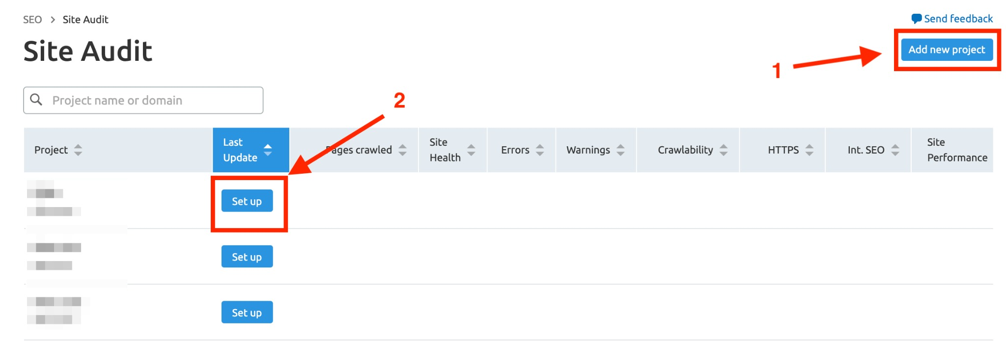 How to Organize Your Work in Site Audit? image 1