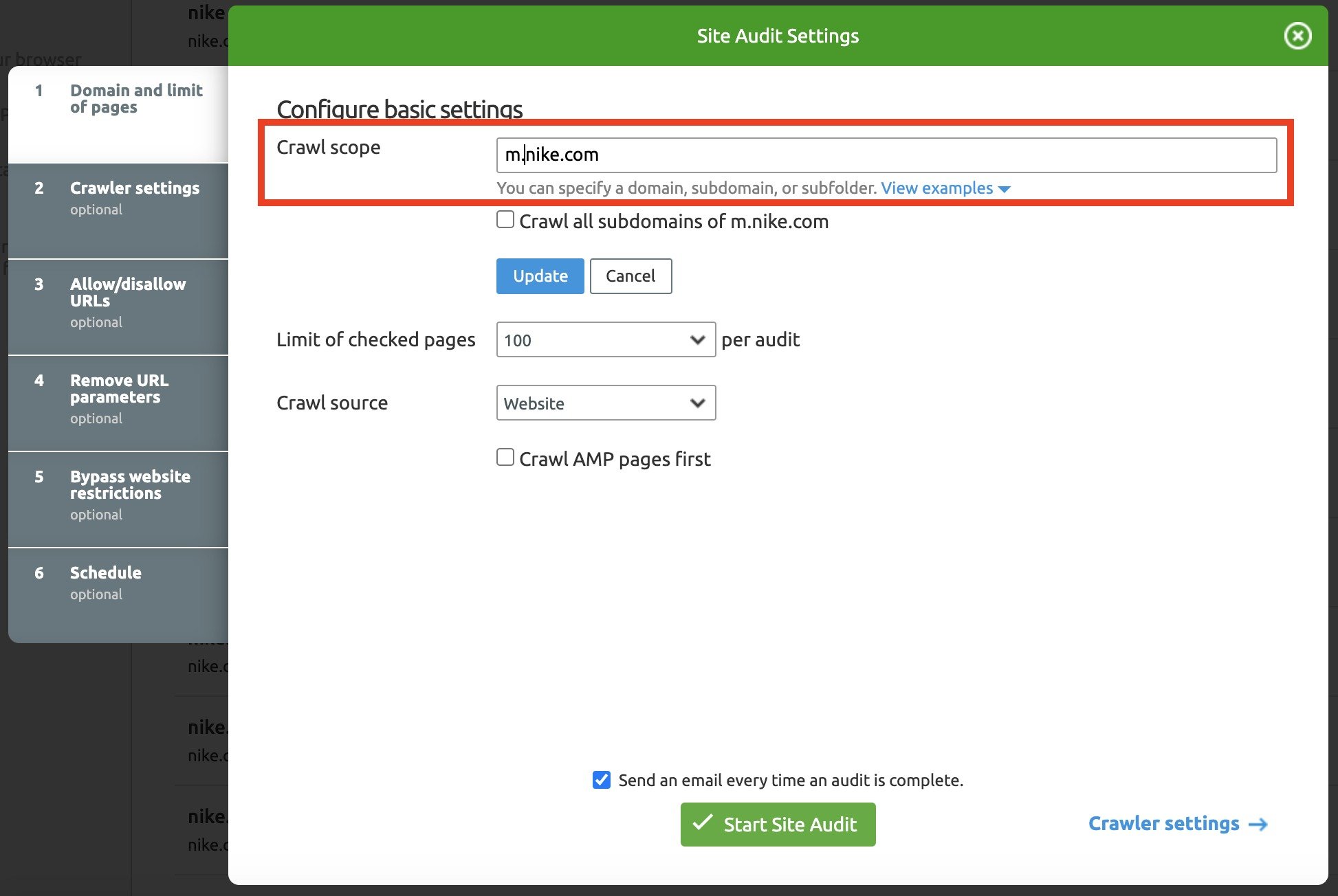 How to Organize Your Work in Site Audit? image 4