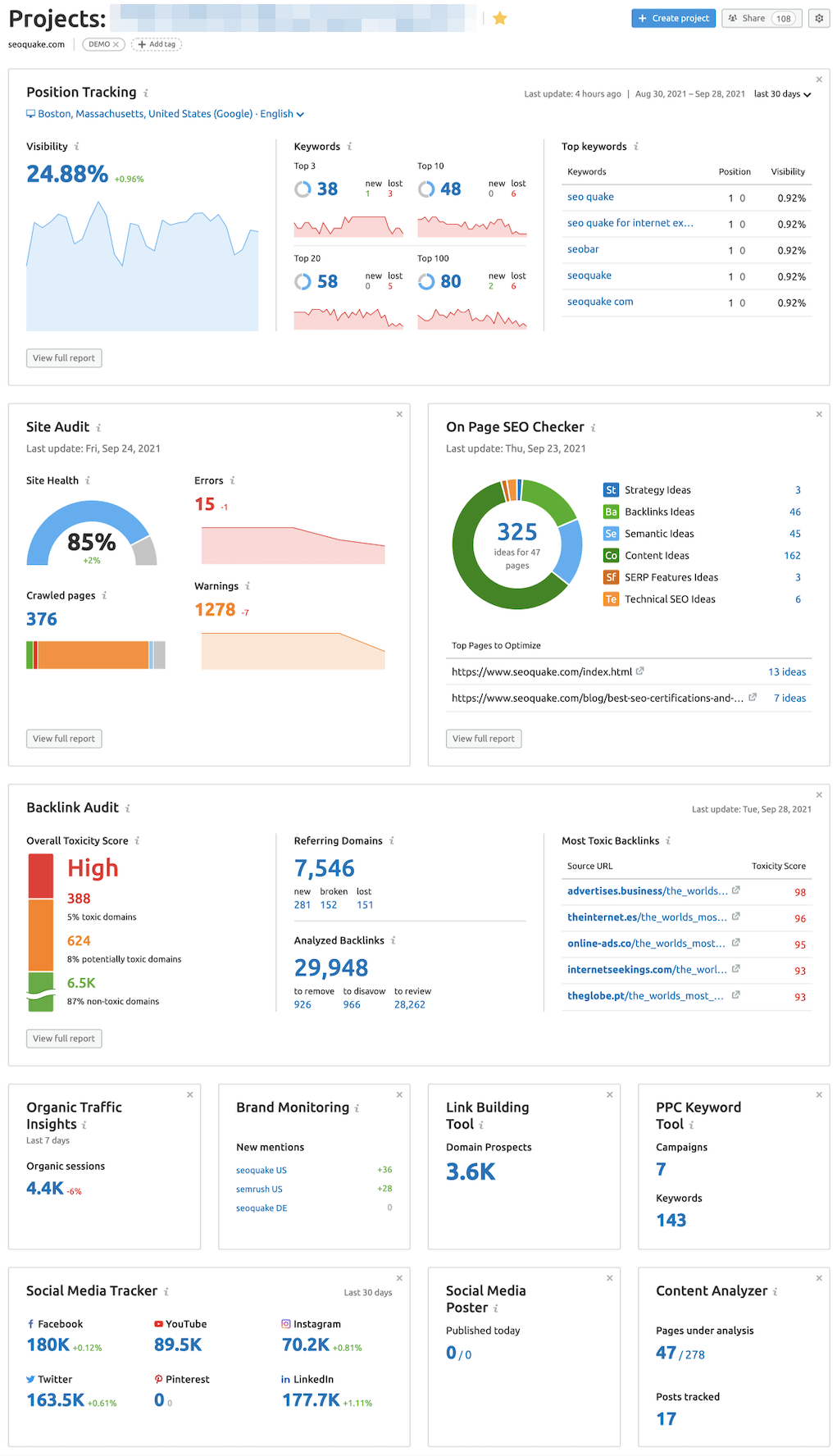 How to Onboard a New Client with Semrush image 1