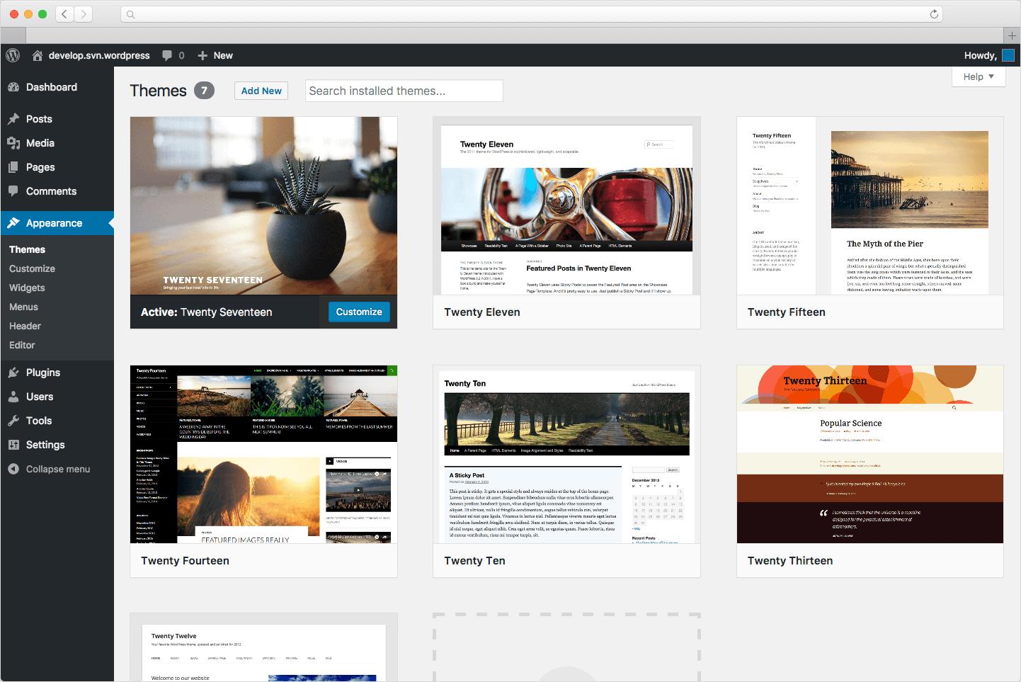 wordpress.org Favicon